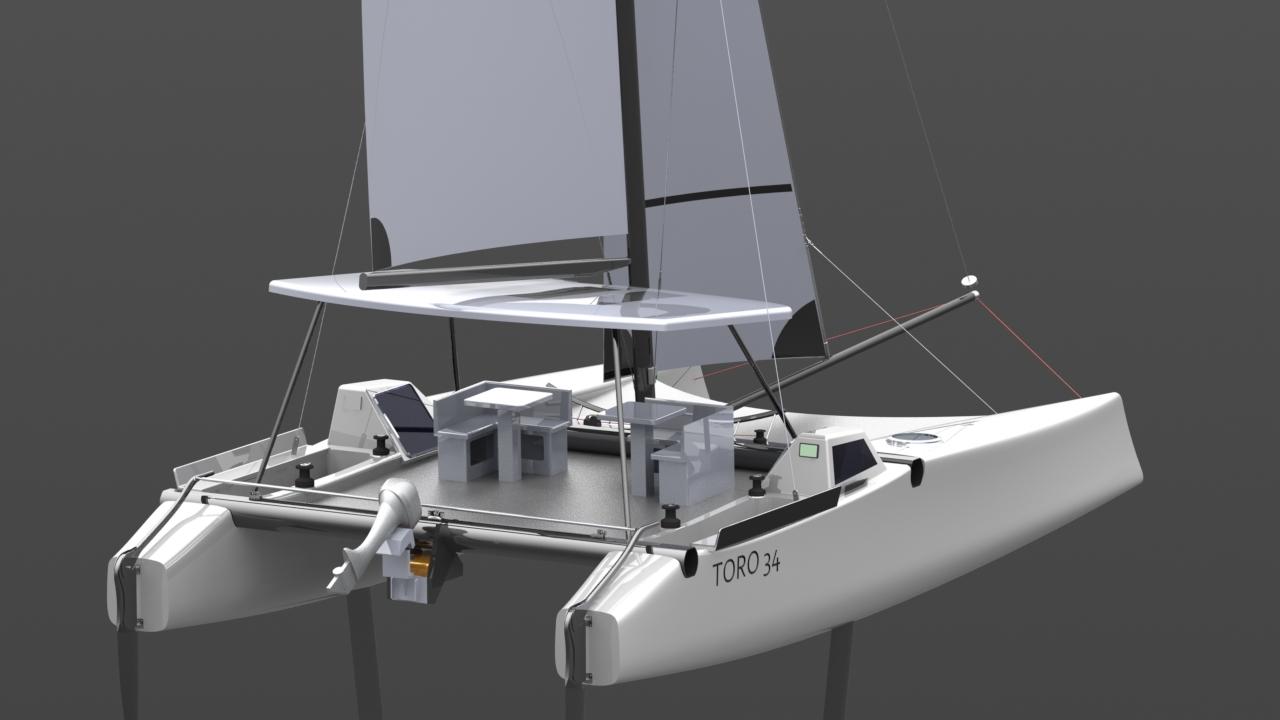 Catamaran Hull Design Plans